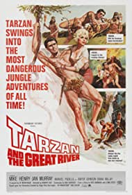 Tarzan and the Great River Poster - Movie Forum, Cast, Reviews