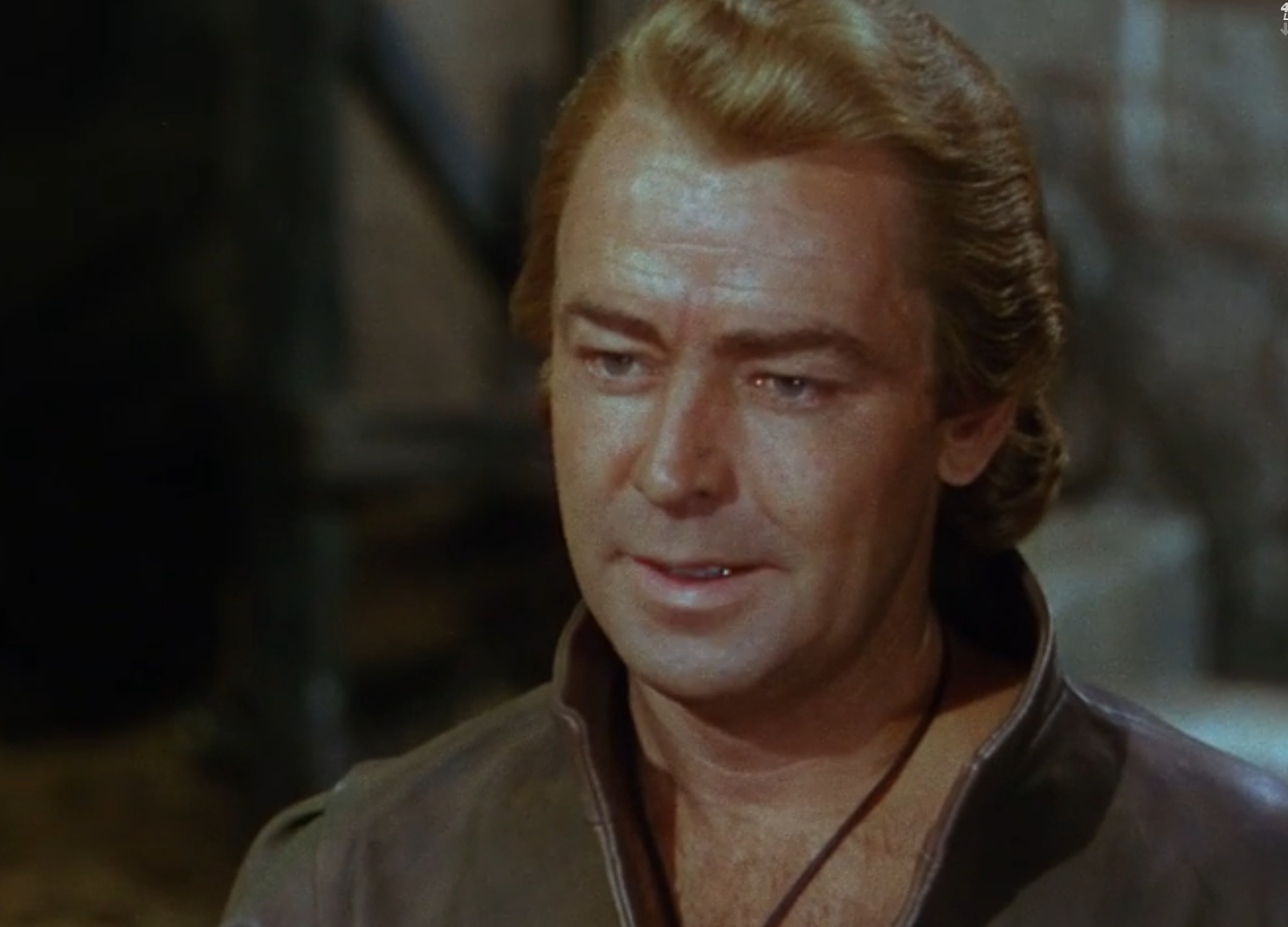 Alan Ladd in The Black Knight (1954)