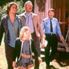 Michael Douglas, Jodie Foster, Will Geer, and Arch Johnson in Napoleon and Samantha (1972)