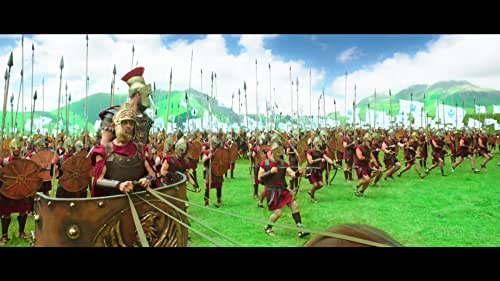 This movie chronicles the life of a South Indian ruler of the Satavahana Empire in South India in the 2nd century CE.