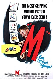 M (1951) Poster - Movie Forum, Cast, Reviews