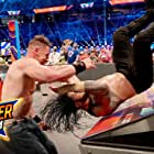 John Cena and Joe Anoa'i in WWE SummerSlam (2021)