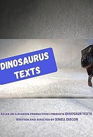 Dinosaur Texts Poster