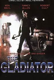 Nancy Allen, Brian Robbins, Robert Culp, Rick Dees, Stan Shaw, and Ken Wahl in The Gladiator (1986)