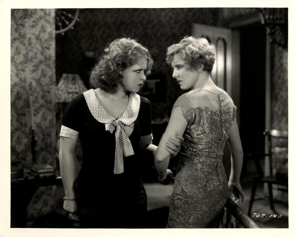 Jean Arthur and Clara Bow in The Saturday Night Kid (1929)