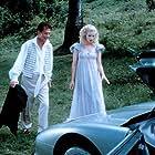 Bridget Fonda and John Hurt in Roger Corman's Frankenstein Unbound (1990)