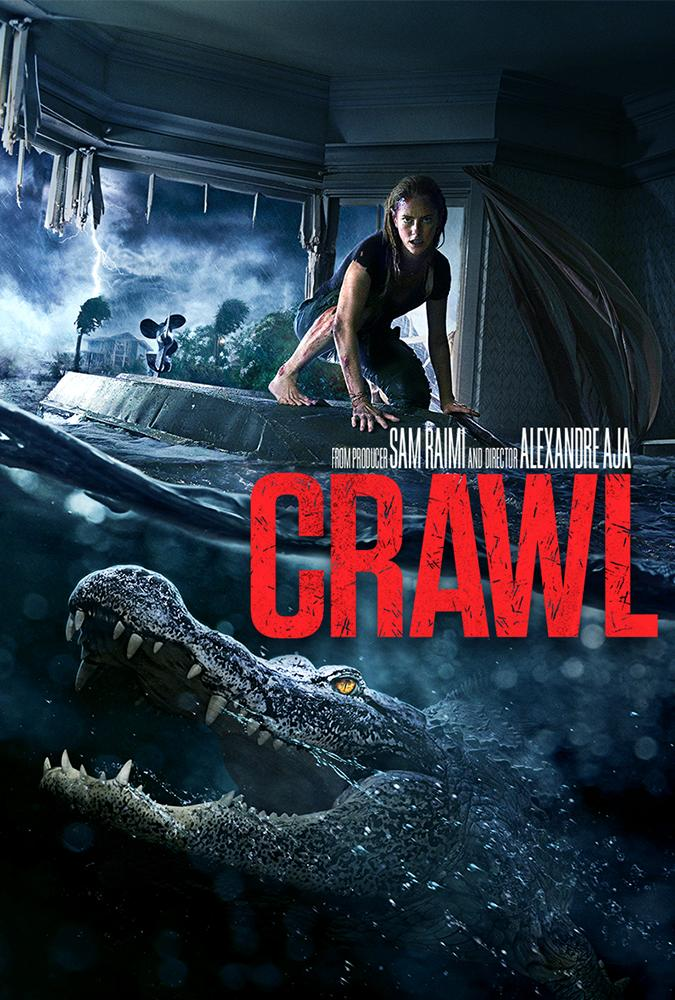 Crawl 2019 Hindi ORG Dual Audio 720p BluRay 900MB ESub x264 AAC