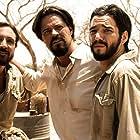 Caio Blat, Felipe Camargo, and João Miguel in Xingu (2011)