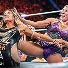 Trish Stratus and Ashley Fliehr in WWE: SummerSlam (2019)