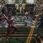 Trev Broudy, Quinton Flynn, John Kassir, and Tasia Valenza in Marvel: Ultimate Alliance (2006)