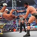 Drew Galloway and Yuvraj Dhesi in WWE SummerSlam (2021)