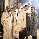 Kevin Spacey, Alan Arkin, Tony Goldwyn, and Frank Langella in Doomsday Gun (1994)