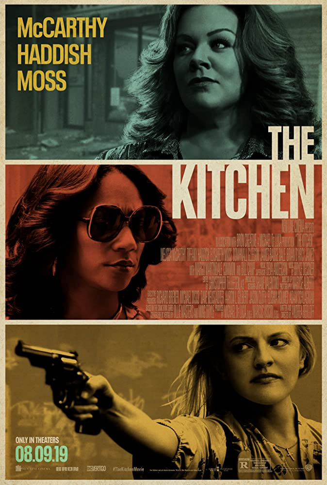 Elisabeth Moss, Melissa McCarthy, and Tiffany Haddish in The Kitchen (2019)