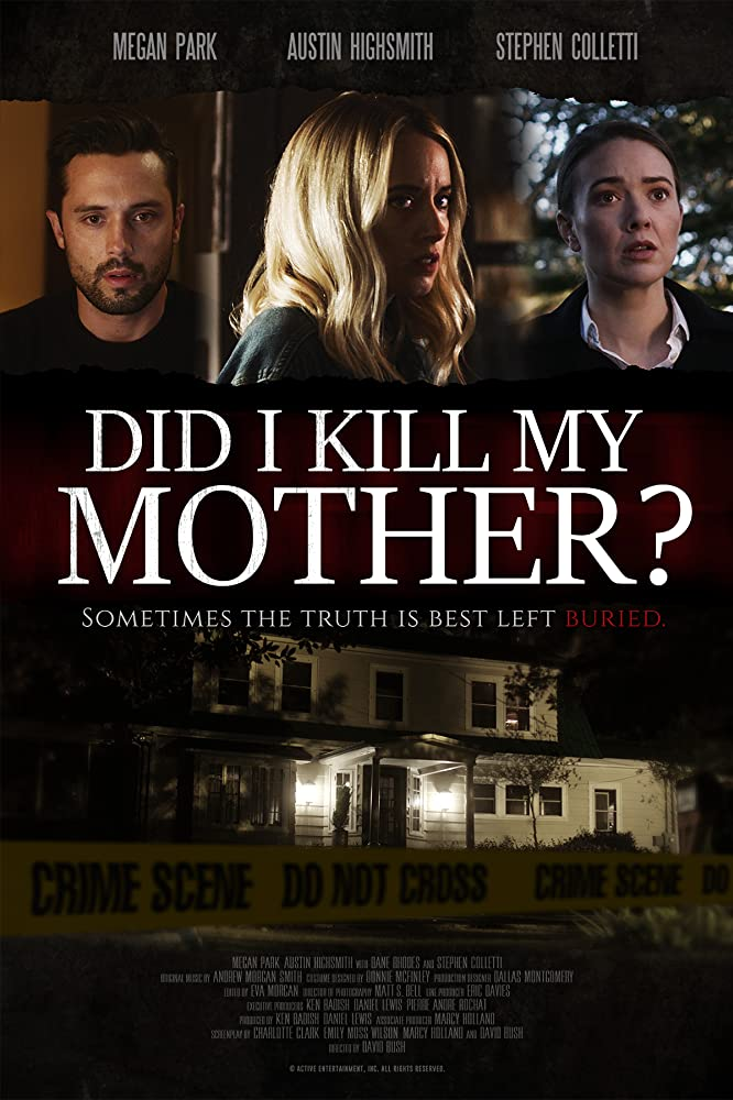 Megan Park, Stephen Colletti, and Austin Highsmith in Did I Kill My Mother? (2018)
