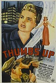Richard Fraser and Brenda Joyce in Thumbs Up (1943)
