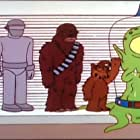 Chewbacca and Alf in The Simpsons (1989)