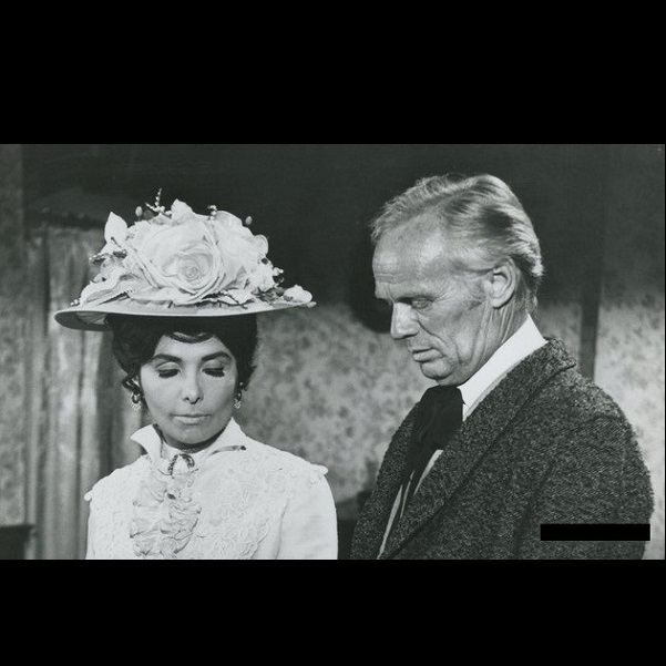 Richard Widmark and Lena Horne in Death of a Gunfighter (1969)