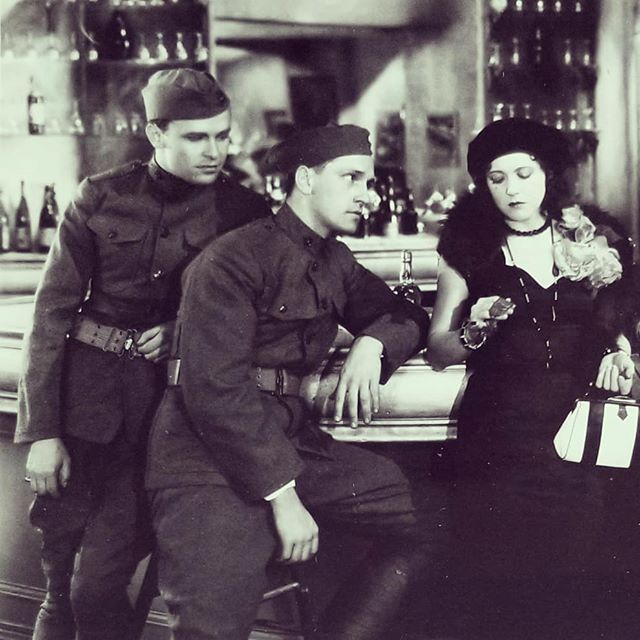 Ruth Chatterton, Fredric March, and Stanley Smith in Paramount on Parade (1930)