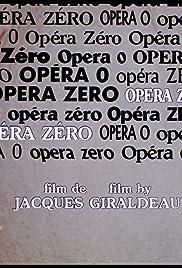 Opéra zéro Poster