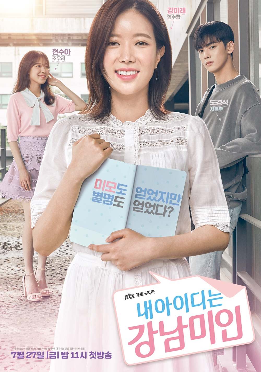 Kang Mi Rae recovers her self esteem after being bullied as she gets to know Do Kyung Suk after getting plastic surgery. Then she gets called the