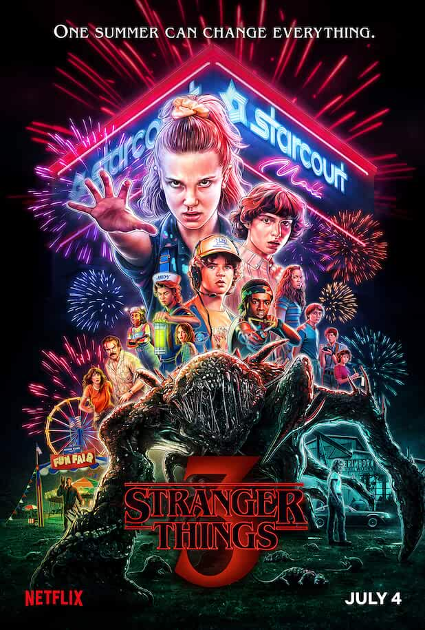 Stranger Things (2019) Season 3 in Hindi Complete