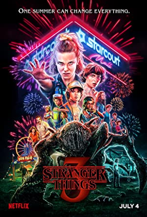 View Stranger Things - Season 1 TV Series poster on INDOXX1
