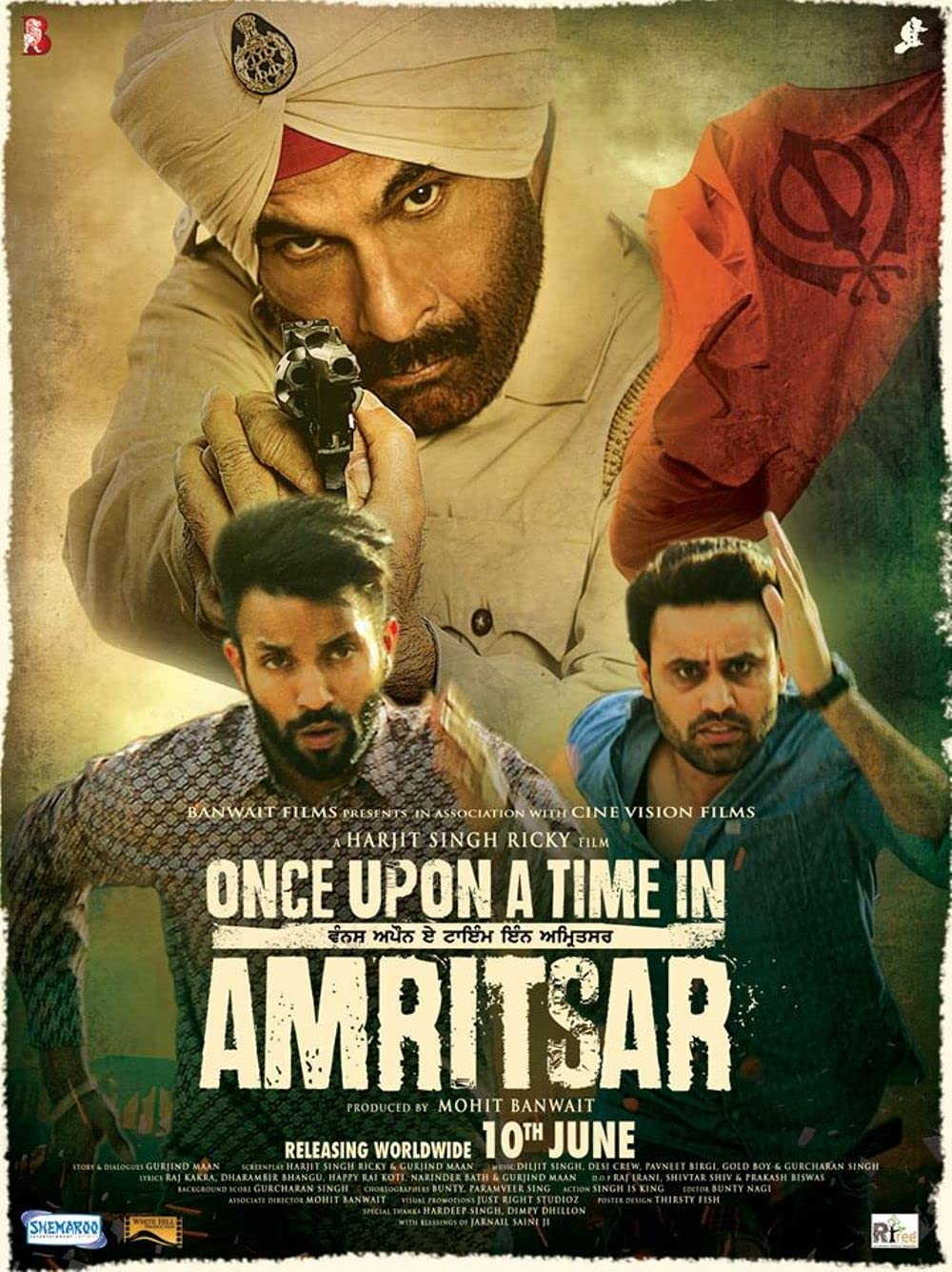 Once Upon a Time in Amritsar 2016 Punjabi 720p AMZN HDRip ESubs 750MB Download