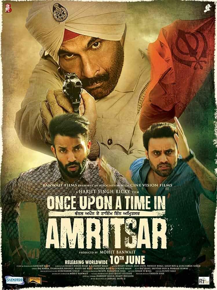 Once Upon a Time in Amritsar (2016) Punjabi 720p HDRip x264 AAC 5.1 ESubs [850MB] Full Punjabi Movie