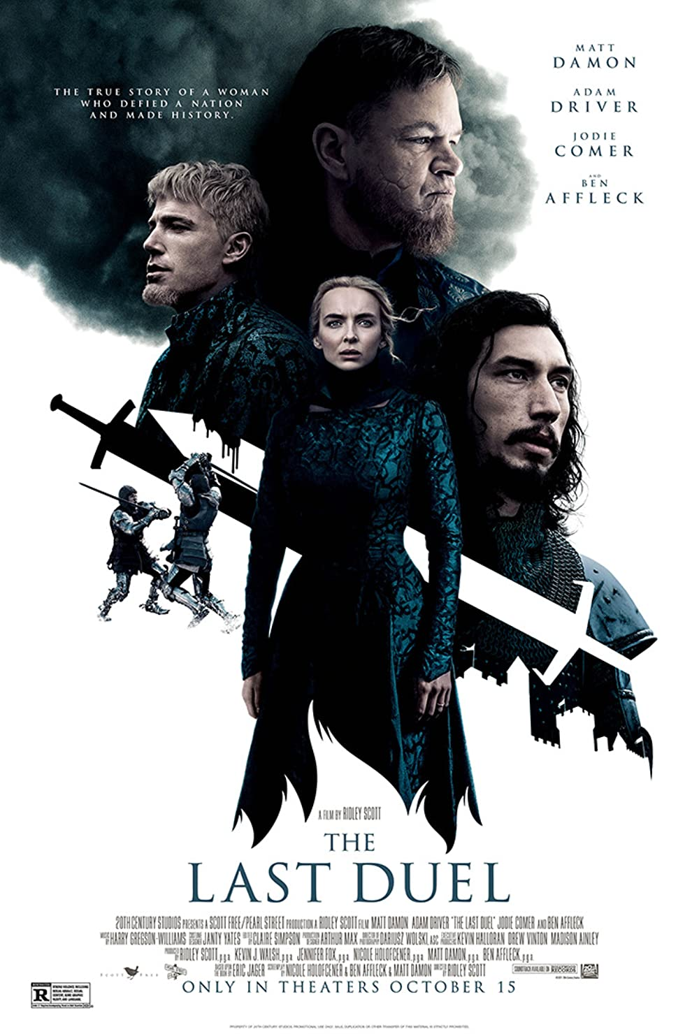 The Last Duel 2021 English 480p HDCAM 444MB Download