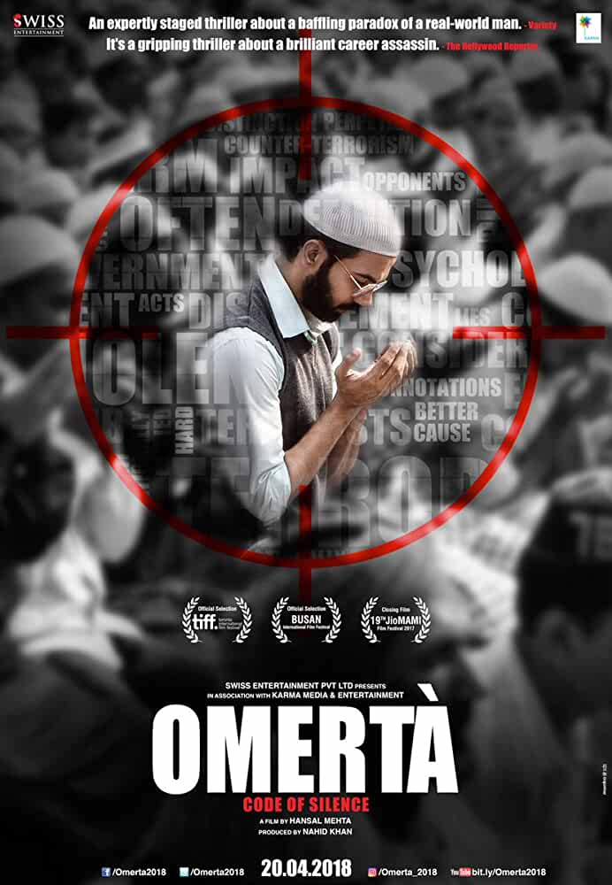 Omerta(2017) Hindi Full Movie Watch Online Download