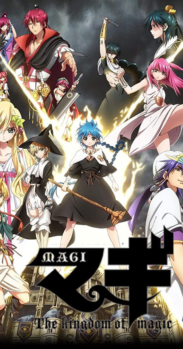 Magi The Labyrinth Of Magic Ger Sub