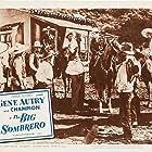 Gene Autry, Jose Alvarado, William Edmunds, Martin Garralaga, Neyle Morrow, Artie Ortego, and Champion in The Big Sombrero (1949)