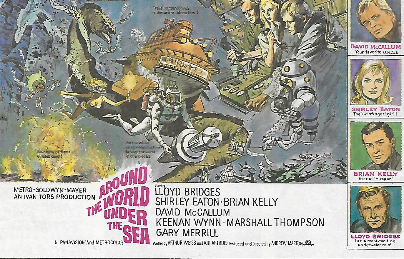 Image result for movie around the world under the sea