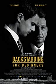 Ben Kingsley and Theo James in Backstabbing for Beginners (2018)