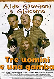 Tre uomini e una gamba Poster