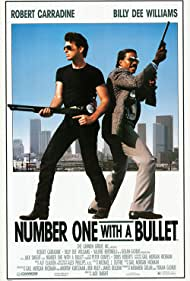 Robert Carradine and Billy Dee Williams in Number One with a Bullet (1987)