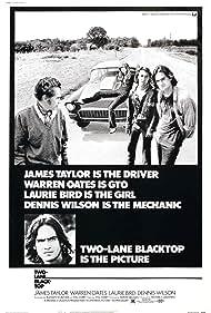 Two-Lane Blacktop (1972) Poster - Movie Forum, Cast, Reviews