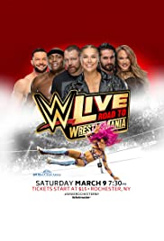 WWE Live Road to WrestleMania Poster