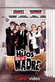 Mauricio Herrera, Freddy Ortega, German Ortega, Lenny Zundel, and Jocelín Zuckerman in Hijos de su madre (2018)