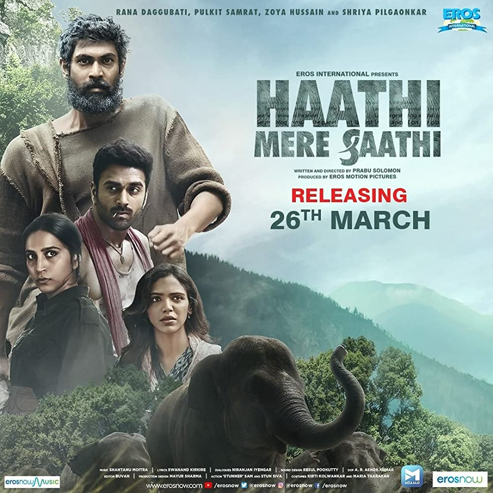 Haathi Mere Saathi (2021) Hindi Dubbed Official Trailer 1080p HDRip Download
