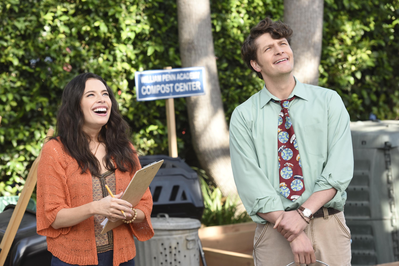 Chloe Bridges and Brett Dier in CB Saves the Planet (2020)