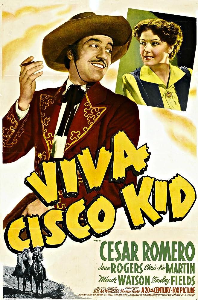 Cesar Romero and Jean Rogers in Viva Cisco Kid (1940)