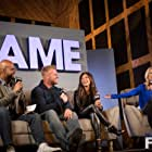 Tony Banks, Lindsay Cash, Tyler Clutts, and Tiffany Clutts in The Fame (2014)