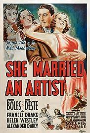 She Married an Artist Poster