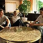 Trine Dyrholm, Magnus Krepper, and Gustav Lindh in Dronningen (2019)