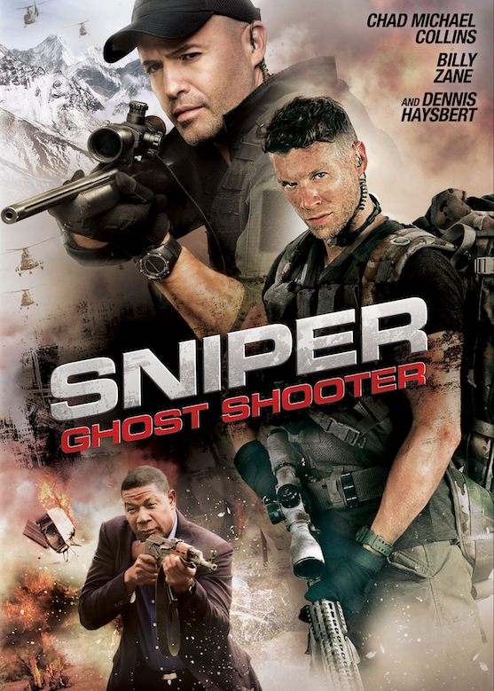 Poster film Sniper: Ghost Shooter (2016)