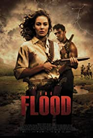 Shaka Cook and Alexis Lane in The Flood (2020)