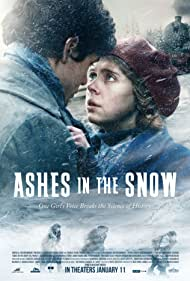 Bel Powley and Jonah Hauer-King in Ashes in the Snow (2018)