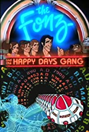 The Fonz and the Happy Days Gang Poster