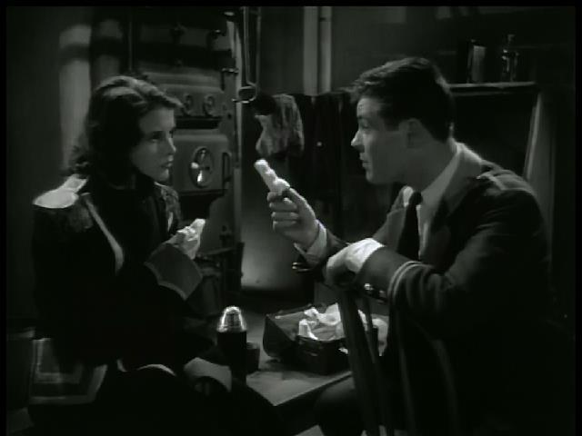 Tom Brown and Mary Maguire in That Man's Here Again (1937)